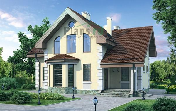 Проект кирпичного дома 72-13