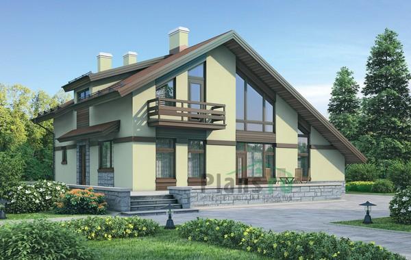 Проект кирпичного дома 72-14