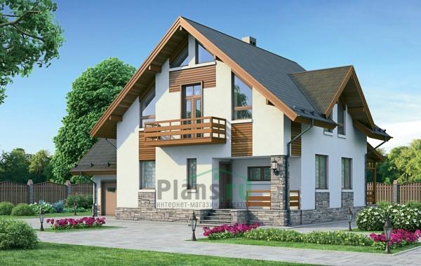 Проект кирпичного дома 72-21