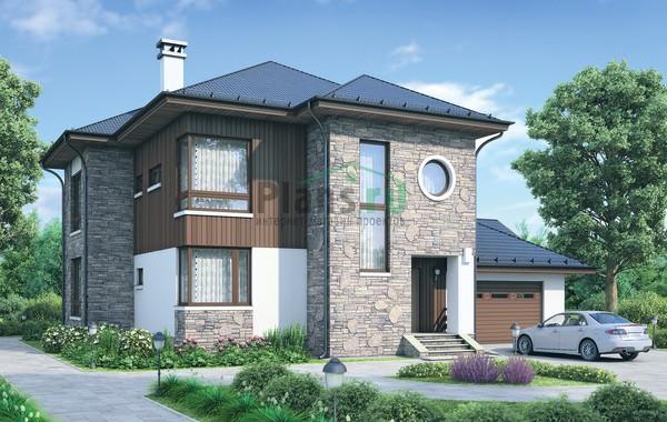 Проект кирпичного дома 72-35