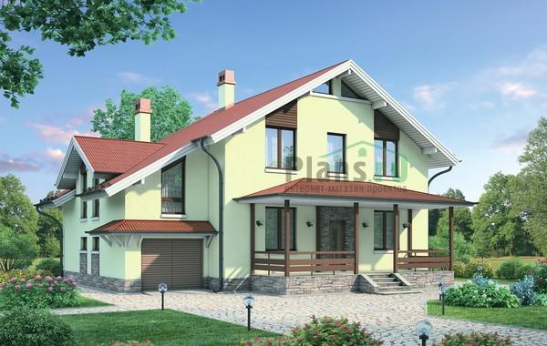 Проект кирпичного дома 72-40