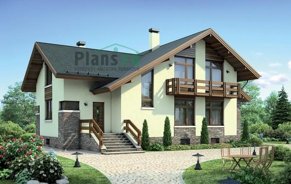 Проект кирпичного дома 72-43