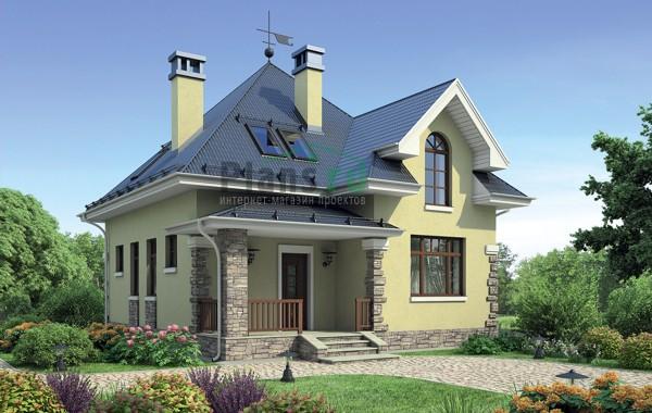 Проект кирпичного дома 72-59