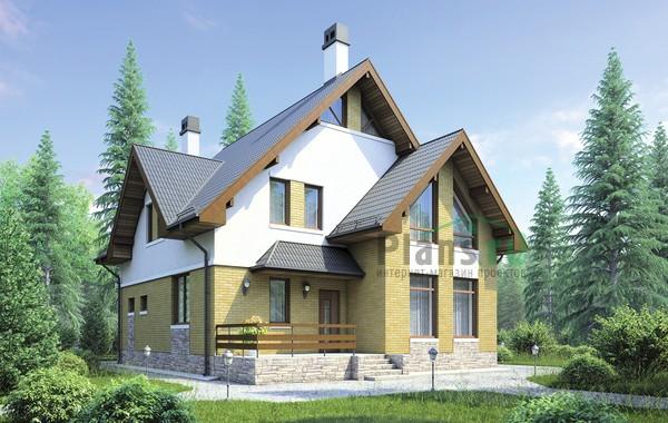 Проект кирпичного дома 72-68