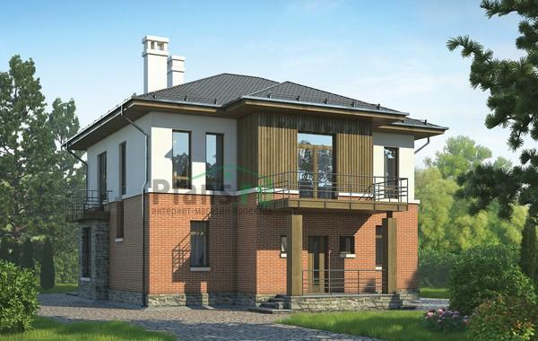 Проект кирпичного дома 72-69