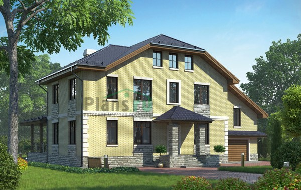 Проект кирпичного дома 72-74