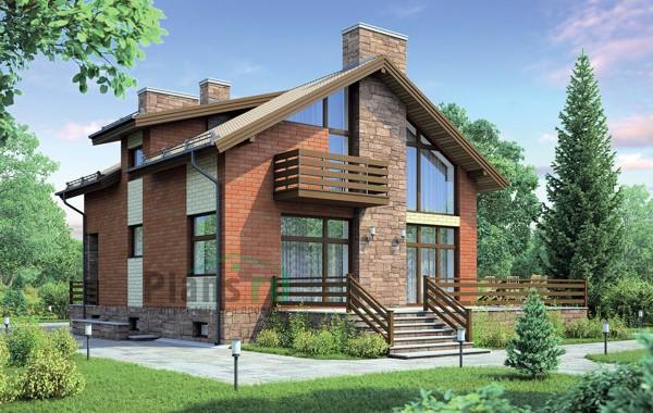 Проект кирпичного дома 72-80