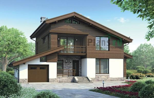 Проект кирпичного дома 72-86