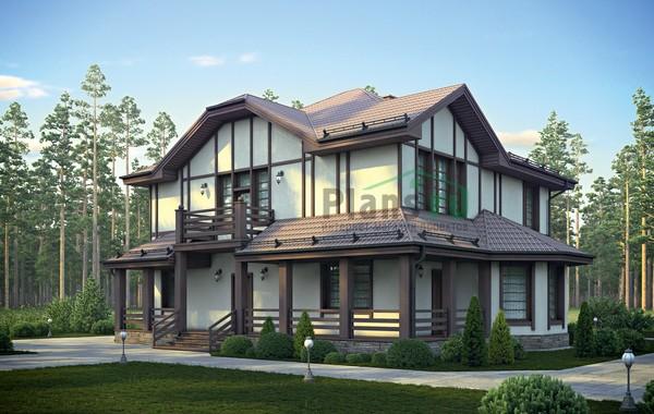 Проект кирпичного дома 72-93