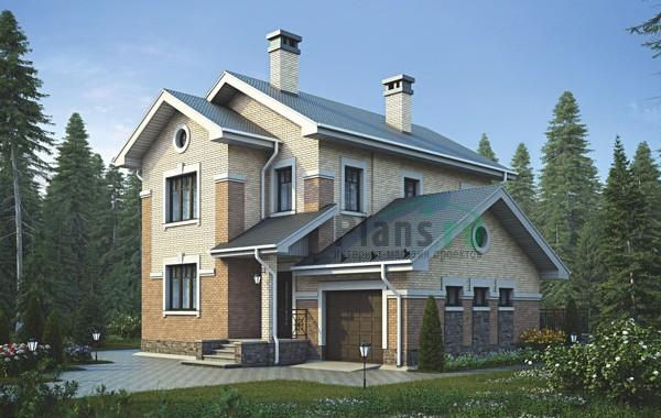Проект кирпичного дома 73-06