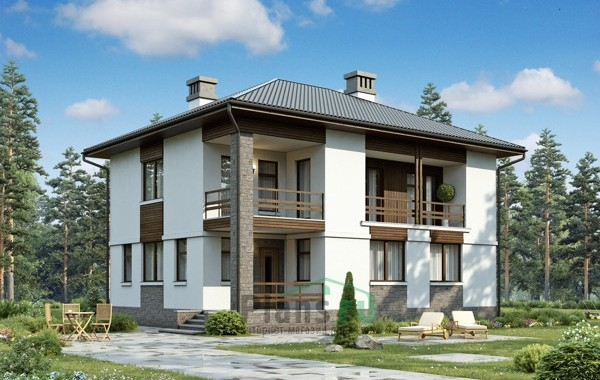 Проект кирпичного дома 73-29