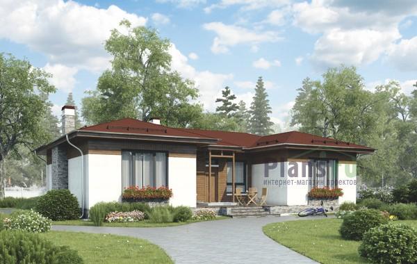 Проект кирпичного дома 73-31