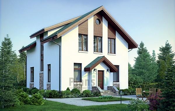 Проект кирпичного дома 73-41