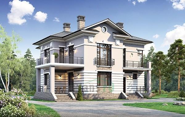 Проект кирпичного дома 73-72