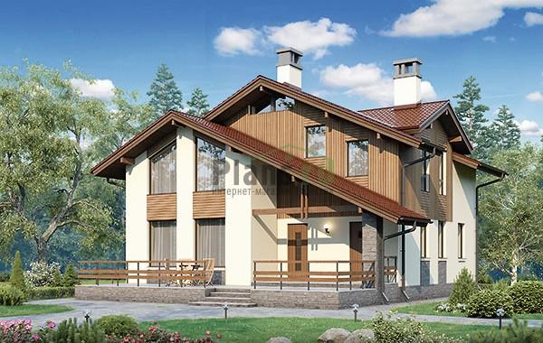 Проект кирпичного дома 73-79