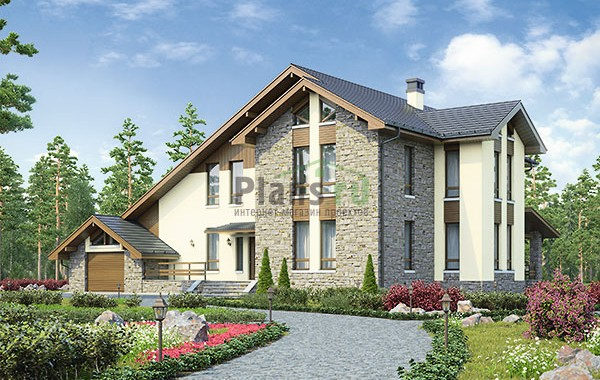 Проект кирпичного дома 73-87