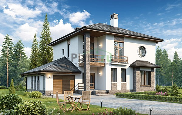 Проект кирпичного дома 73-88