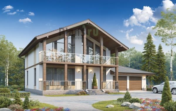 Проект кирпичного дома 73-92