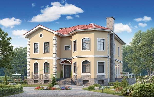 Проект кирпичного дома 73-98
