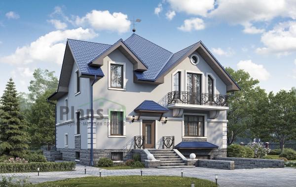 Проект кирпичного дома 74-15