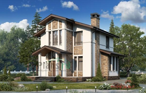 Проект кирпичного дома 74-32