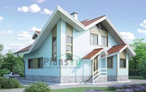 Проект деревянного дома 10-04