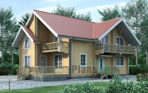 Проект деревянного дома 11-00