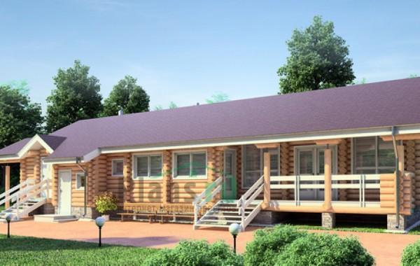 Проект деревянного дома 11-47