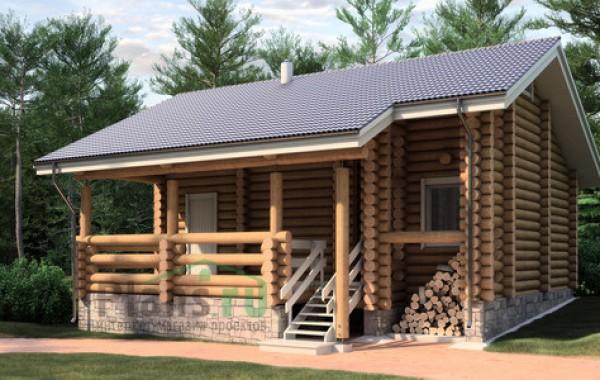 Проект деревянного дома 11-49