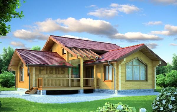 Проект деревянного дома 11-78