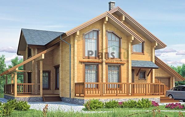 Проект деревянного дома 12-82