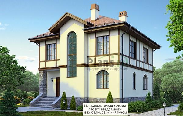 Проект кирпичного дома 41-10
