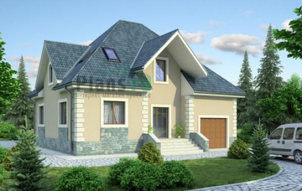 Проект кирпичного дома 36-45