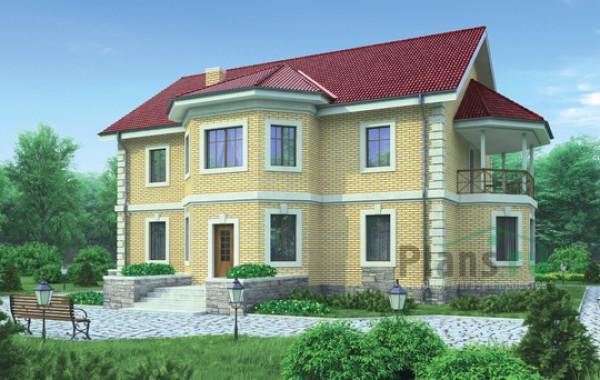 Проект кирпичного дома 36-56