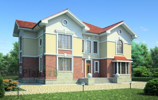 Проект кирпичного дома 36-62