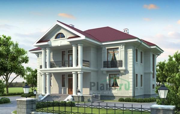 Проект кирпичного дома 36-74