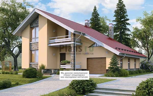 Проект кирпичного дома 41-19