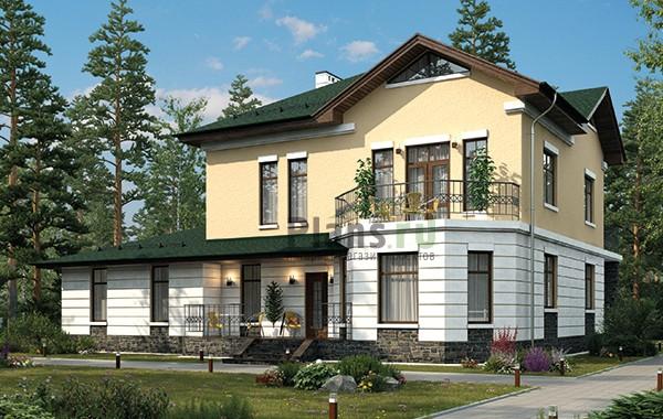 Проект кирпичного дома 41-32
