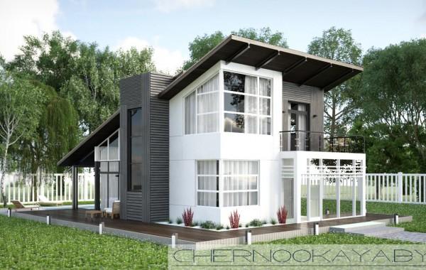 Современный проект дома №1501