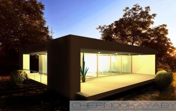 Современный проект дома №1500
