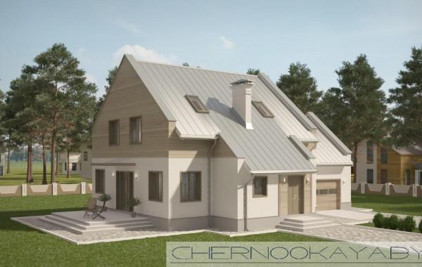 Проект дома №1561 Barn house (дом-амбар)