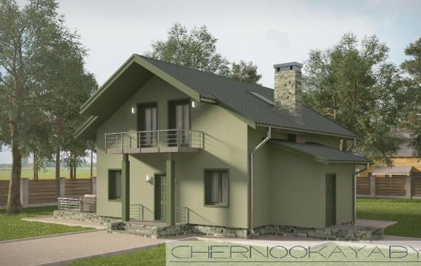 Проект дома №1507-3