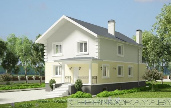Проект дома №1533-6 с подвалом
