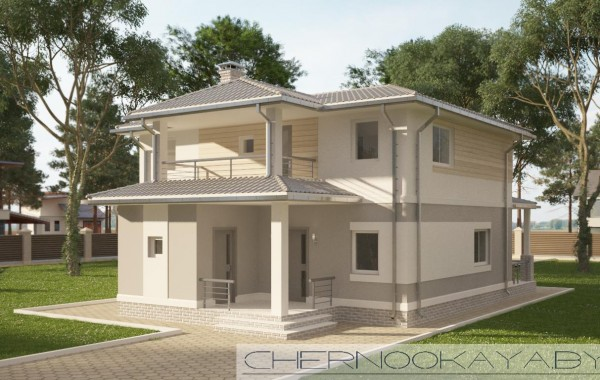 Проект дома №1534