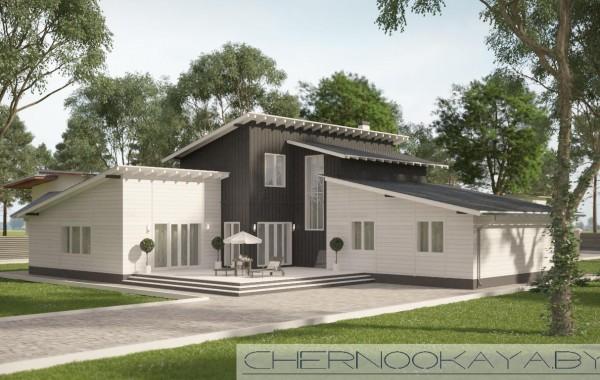 Проект современного дома №1569