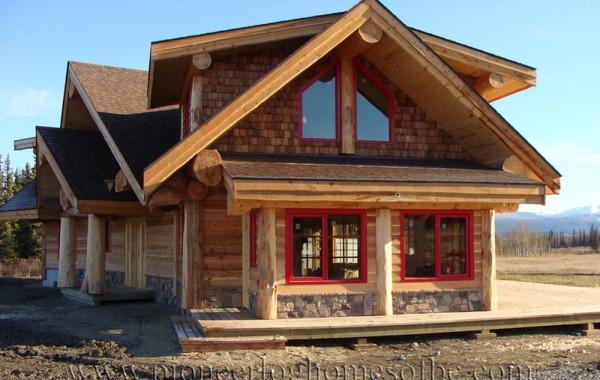 Оригинальный дом в стиле Post and Beam