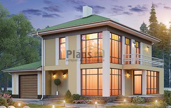 Проект кирпичного дома 42-22
