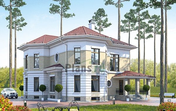 Проект кирпичного дома 42-49
