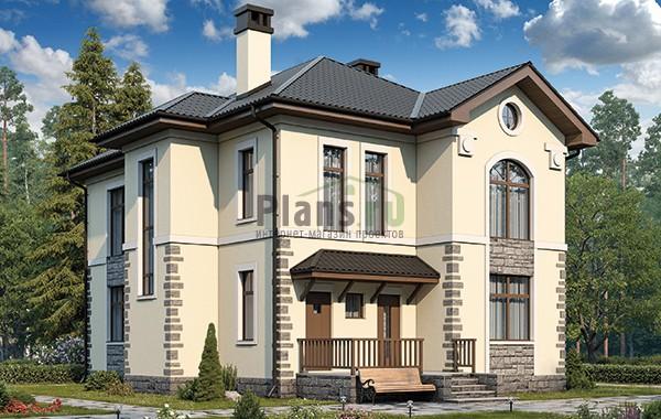 Проект кирпичного дома 42-60