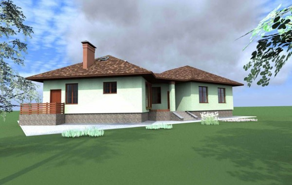 Типовой эскизный проект дома